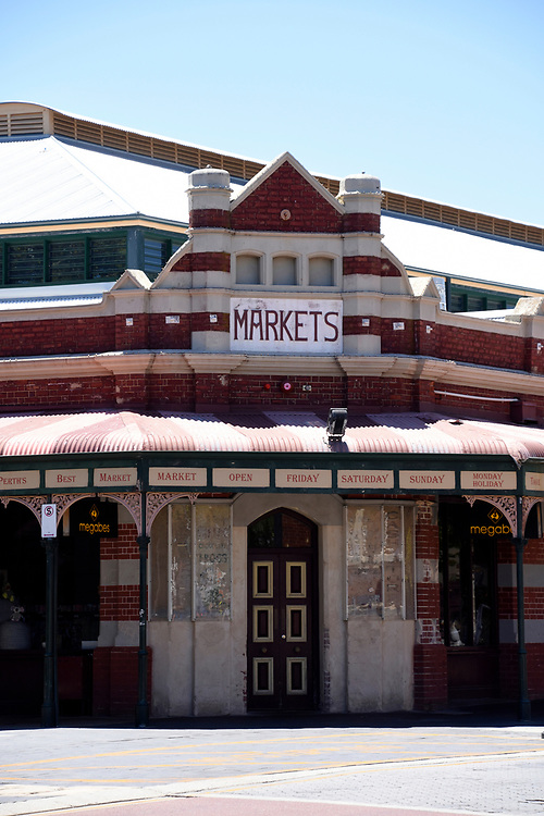 Entrance to the Weekend Markets of Freemantle
