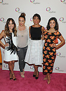 "Style Expert and TV personality Lilliana Vazquez, radio personality Angie Martinez, actress Selenis Leyva and actress Diane Guerrero, from left to right, attend P&G Orgullosa's forum ""Nueva Latinas Living Fabulosa"" at The TimesCenter on Wednesday, March 25, 2015, in New York. The all-star lineup of speakers shared their passion and stories of rich history, blended cultures and aspirations. Visit Facebook.com/Orgullosa for more information. (Photo by Diane Bondareff/Invision for P&G Orgullosa/AP Images)"