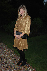 TARA SUMMERS at the annual Cartier Chelsea Flower Show dinner held at the Chelsea Physic Garden on 21st May 2007.<br /><br />NON EXCLUSIVE - WORLD RIGHTS