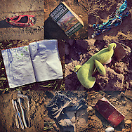 27 May 2016, Idomeni Greece - Left Behind. The objects left behind by migrants refugees in the idomeni camp, after the deportation.