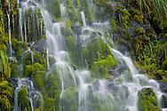 Mossbrae Falls, along the Sacramento River, near Dunsmuir, California