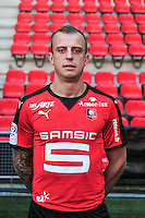 Kamil Grosicki - 15.09.2015 - Photo officielle Rennes - Ligue 1 2015/2016<br /> Photo : Philippe Le Brech / Icon Sport