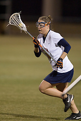 Virginia Cavaliers A Ashley McCulloch (16)<br /> <br /> The Virginia Cavaliers Women's Lacrosse team defeated the Richmond Spiders 13-5 at Kl?ckner Stadium in Charlottesville, VA on February 28, 2007.