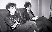 Back stage at Jesus & Mary Chain, Free Trade Hall, Manchester, 1980s