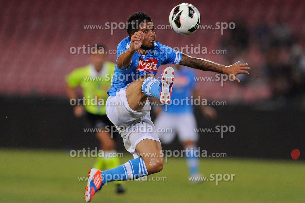 Football: Italy, Serie A, SSC Napoli.© pixathlon.Lorenzo Insigne.ITALY OUT !
