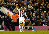 Photo: Leigh Quinnell.<br /> West Bromwich Albion v Coventry City. Coca Cola Championship. 16/12/2006. Paul Robinson celebrates scoring goal number five for West Brom.