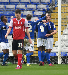 Birmingham City's Robert Tesche celebrates his goal - Photo mandatory by-line: Paul Knight/JMP - Mobile: 07966 386802 - 03/04/2015 - SPORT - Football - Birmingham - St Andrew's Stadium - Birmingham City v Rotherham United - Sky Bet Championship