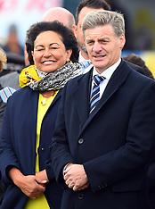 Wanganui-PM Bill English visits Ratana