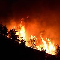 Boulder Sunshine Canyon Fire
