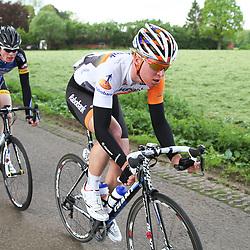 WIELRENNEN Rijssen, de 62e ronde van Overijssel werd op zaterdag 3 mei verreden. Ivar Slik (Rabo) en Aron van der Zwet (Koga)