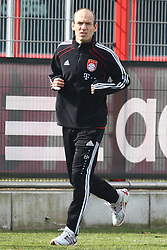06.03.2011, Trainingsgelaende, Muenchen, GER, 1.FBL, Training FC Bayern Muenchen , im Bild Arjen Robben (Bayern #10)  , EXPA Pictures © 2011, PhotoCredit: EXPA/ nph/  Straubmeier       ****** out of GER / SWE / CRO  / BEL ******