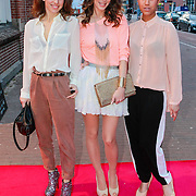 NLD/Amsterdam/20130408 - Uitreiking Mama of the Year award 2013, Mieke Gurts, Dewi Pechler en Bouchra Tjon Pon Fong