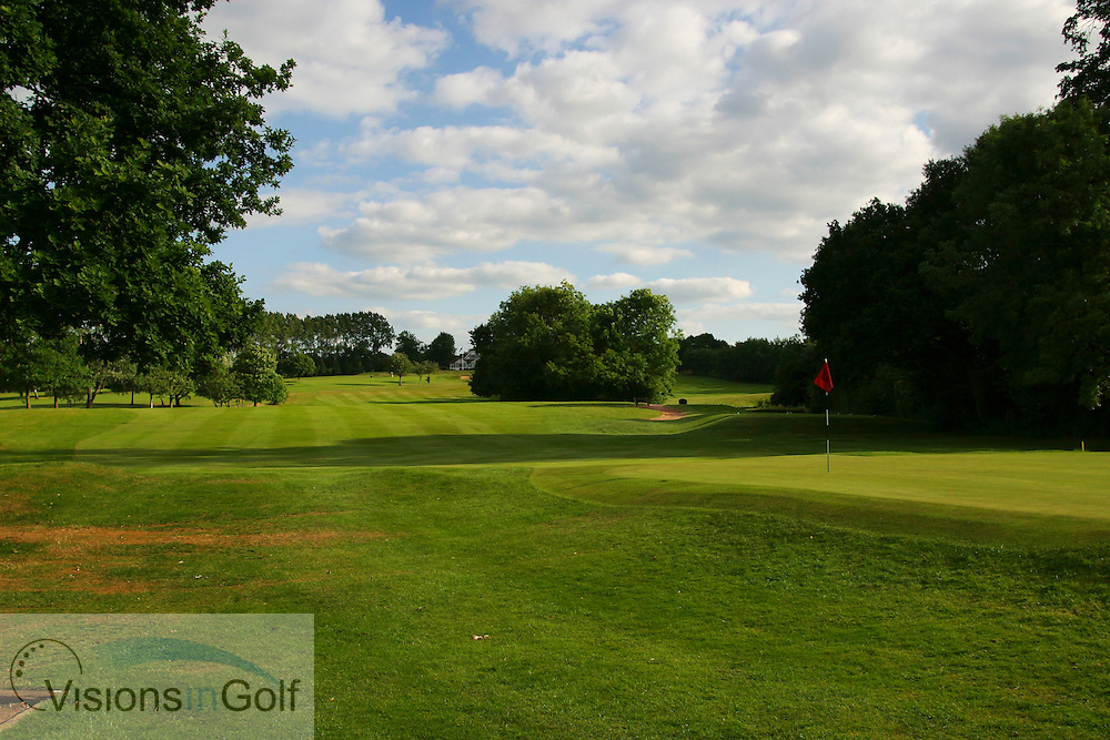 Sundridge Park GC, West Course, Bromley, Kent. <br /> <br /> Photo Mark Newcombe / visionsingolf.com