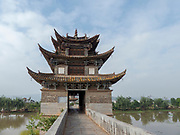 China, Yunnan, Jianshui, Twin Dragon Bridge