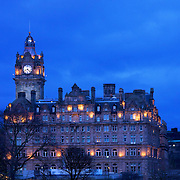 A former home to a newspaper office, the Balmoral hotel is one of Edinburgh's top hotels and a landmark building in it's own right