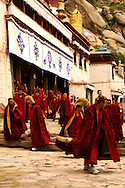 Sera Monastery is one of the most important Gelukpa university monasteries of Tibet.  Sera housed more than 5,000 monks in 1959 though few remain today. Although badly damaged following the invasion of Tibet and the Cultural Revolution, it is still standing and has been largely repaired.