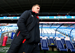 Bournemouth manager Eddie Howe arrives at the John Smiths Stadium for the Premier League Match with Huddersfield Town - Mandatory by-line: Robbie Stephenson/JMP - 11/02/2018 - FOOTBALL - The John Smith's Stadium - Huddersfield, England - Huddersfield Town v Bournemouth - Premier League