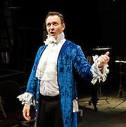 Prima La Musica<br /> Opera At Home Ensemble<br /> at The Arcola Theatre, London, Great Britain <br /> 25th August 2011 <br /> Rehearsal <br /> Grimeborn The Opera Festival<br /> directed by Jose Manuel Gandia<br /> <br /> <br /> Victor Sgarbi (as Maestro)<br /> <br /> <br /> Photograph by Elliott Franks