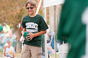 19058Homecoming 2008: Football Game OHIO vs. Virginia Military Institute..Tailgreat Park:..Christopher Wingett(glasses)  and Jordan Moseley