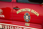 Huntington Beach Fire and Lifeguard Truck
