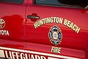 Huntington Beach Fire and Lifeguard Truck