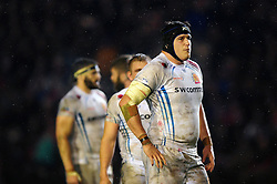 Mitch Lees of Exeter Chiefs - Mandatory byline: Patrick Khachfe/JMP - 07966 386802 - 03/03/2017 - RUGBY UNION - Welford Road - Leicester, England - Leicester Tigers v Exeter Chiefs - Aviva Premiership.