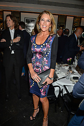 VISCOUNTESS DAVENTRY at the Style for Soldiers dinner held at Le Caprice, 20 Arlington Street, London on 24th May 2016.