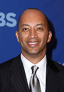 Byron Pitts attends the 2010-2011 CBS Upfront Arrivals at Lincoln Center in New York City on May 19, 2010...