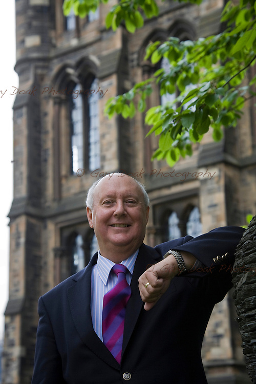 Professor Sir Kenneth Calman, Chancellor of Glasgow University..Also chair of the Calman Commission on Scottish Devolution..