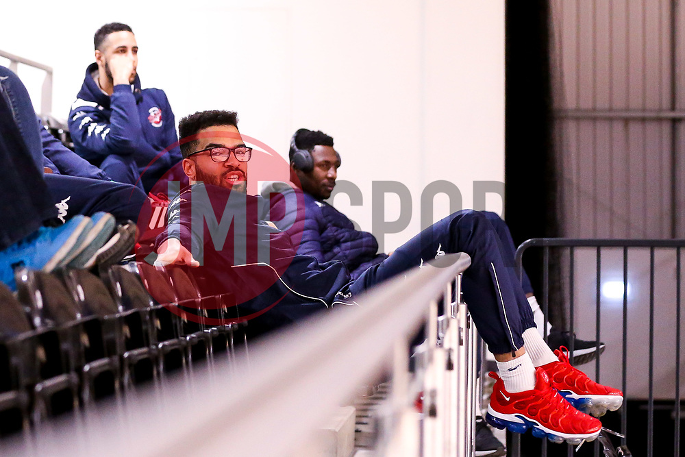 Lewis Champion of Bristol Flyers arrives at the Eagles Community Arena, for the BBL fixture against Newcastle Eagles - Photo mandatory by-line: Robbie Stephenson/JMP - 01/03/2019 - BASKETBALL - Eagles Community Arena - Newcastle upon Tyne, England - Newcastle Eagles v Bristol Flyers - British Basketball League Championship