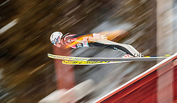 15.03.2018, Granasen, Trondheim, NOR, FIS Weltcup Ski Sprung, Raw Air, Trondheim, im Bild Anders Fannemel (NOR) // Anders Fannemel of Norway during the 3rd Stage of the Raw Air Series of FIS Ski Jumping World Cup at the Granasen in Trondheim, Norway on 2018/03/15. EXPA Pictures © 2018, PhotoCredit: EXPA/ JFK