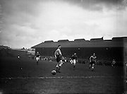 15/02/1958<br /> 02/15/1958<br /> 15 February 1958<br /> Soccer: FAI Cup game, Bohemians v Evergreen United at Dalymount Park, Dublin.