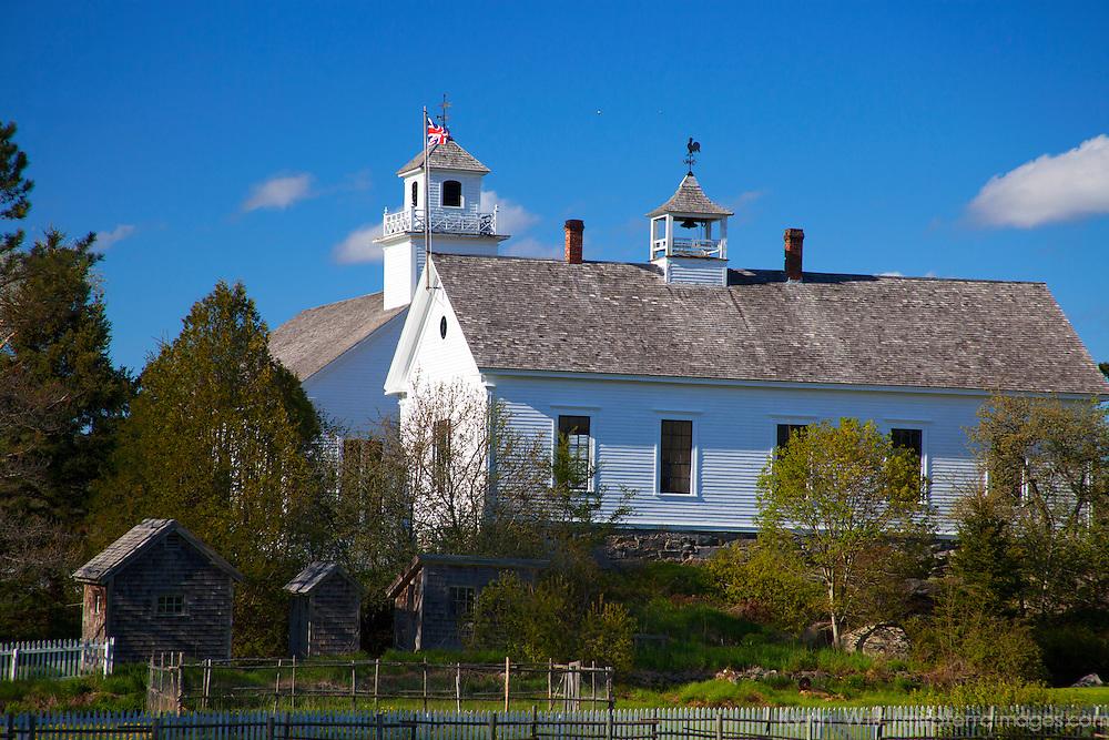 North America, Canada, Nova Scotia, Sherbrooke. Sherbrooke Village, an open air museum in Guysborough.