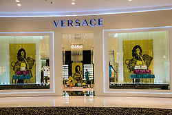 Versace shop in Dubai Mall United Arab Emirates