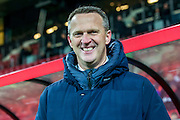 ALKMAAR - 21-01-2017, AZ - Sparta, AFAS Stadion, AZ trainer John van den Brom