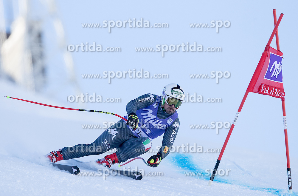 02.12.2016, Val d Isere, FRA, FIS Weltcup Ski Alpin, Val d Isere, Super G, Herren, im Bild Peter Fill (ITA) // Peter Fill of Italy in action during the race of men's SuperG of the Val d'Isere FIS Ski Alpine World Cup. Val d'Isere, France on 2016/02/12. EXPA Pictures © 2016, PhotoCredit: EXPA/ Johann Groder