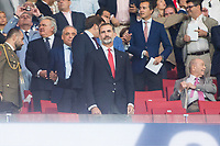 King Felipe VI of Spain before La Liga match between Atletico de Madrid and Malaga CF at Wanda Metropolitano in Madrid, Spain September 16, 2017. (ALTERPHOTOS/Borja B.Hojas)