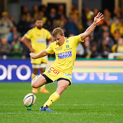 Jake MC INTYRE of Clermont during the Top 14 match between Clermont and Lyon on October 20, 2019 in Clermont-Ferrand, France. (Photo by Romain Biard/Icon Sport) - Jake MC INTYRE - Stade Marcel Michelin - Clermont Ferrand (France)