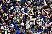 Panolada tifosi Inter Supporters <br /> Milano 28-04-2018 Stadio Giuseppe Meazza in San Siro Football Calcio Serie A 2017/2018 Inter - Juventus Foto Andrea Staccioli / Insidefoto