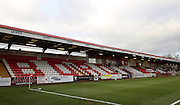 The Lamex Stadium of Stevenage FC before the Sky Bet League 2 match between Stevenage and Exeter City at the Lamex Stadium, Stevenage, England on 20 December 2014. Photo by Kieran Clarke.