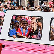 NLD/Amsterdam/20120804 - Canalparade tijdens de Gaypride 2012, Jenny de Munk - Sluyter