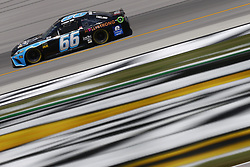 July 13, 2018 - Sparta, Kentucky, United States of America - Timmy Hill (66) brings his race car down the front stretch during practice for the Quaker State 400 at Kentucky Speedway in Sparta, Kentucky. (Credit Image: © Chris Owens Asp Inc/ASP via ZUMA Wire)