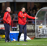 Dundee manager Paul Hartley  - Dundee v Aberdeen in the Ladbrokes Scottish Premiership at Dens Park, Dundee. Photo: David Young<br /> <br />  - &copy; David Young - www.davidyoungphoto.co.uk - email: davidyoungphoto@gmail.com