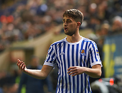January 27, 2018 - Vila-Real, Castellon, Spain - Adam Januzaj of Real Sociedad during the La Liga match between Villarreal CF and Levante Union Deportiva, at Estadio de la Ceramica, on January 26, 2018 in Vila-real, Spain  (Credit Image: © Maria Jose Segovia/NurPhoto via ZUMA Press)