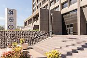 Civic Center Plaza Downtown Santa Ana