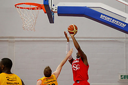 Alif Bland of Bristol Flyers - Photo mandatory by-line: Rogan Thomson/JMP - 07966 386802 - 07/03/2015 - SPORT - BASKETBALL - Bristol, England - SGS Wise Arena - Bristol Flyers v Sheffield Sharks - BBL Championship.
