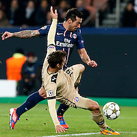 FOOTBALL - CHAMPIONS LEAGUE 2012/2013 PSG VS ZAGREB - 06/11/2012 -