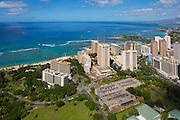 Hale Koa Hotel, Fort De Russey, Waikiki, Oahu, Hawaii