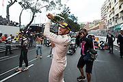 May 25-29, 2016: Monaco Grand Prix. Lewis Hamilton (GBR), Mercedes celebrates winning the Monaco Grand Prix