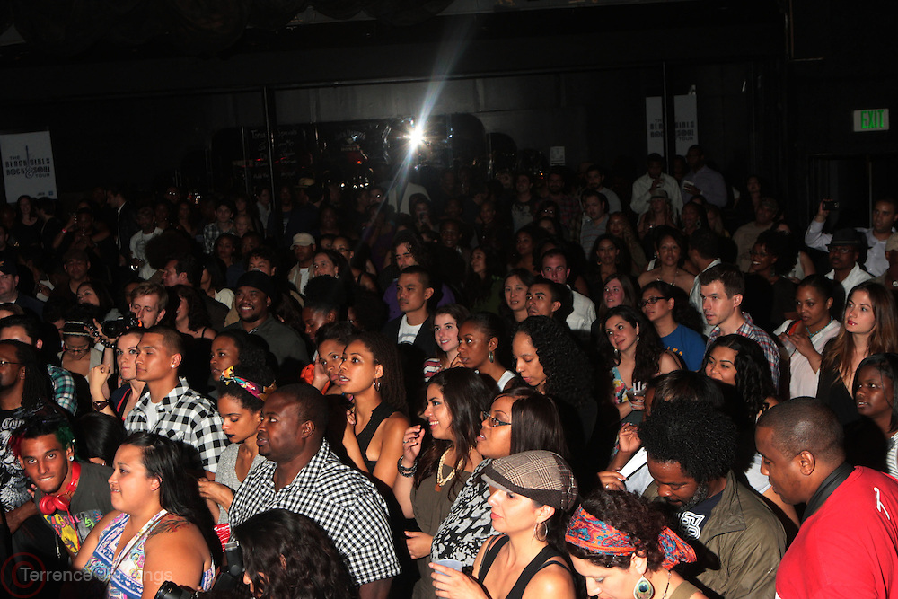 24 June-New York, NY-  Audience at the 1st Annual Black Girl Rock! & Soul Tour Celebrating Dynamic Woman in Music - LA Jam Session Presented by GM and held at the Roxy on June 24, 2011 in Los Angeles, California . Photo Credit: Terrence Jennings